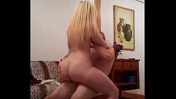 I Fuck his big dick on the chair, squirt then cum!