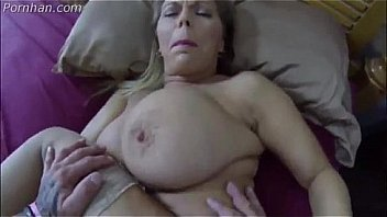 Real stepmom gets fucked while asleep but gives in afterwards because It's too good