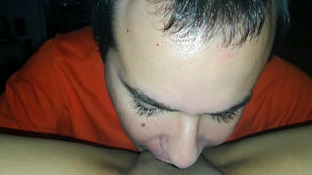 Licking my wife's pussy