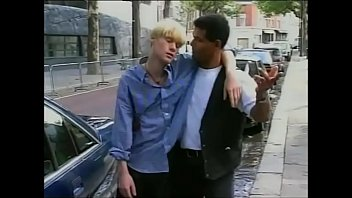 The Taxi Driver & the Blonde Twink