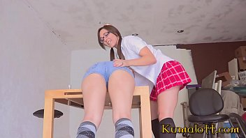 Kumalott - One of the best teen Domination I've seen so far with Sinn Sage and Dani Daniels