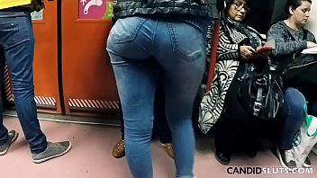 Amazing Big Butt In Very Tight Jeans Candid Voyeur CandidSluts Vid CS-081