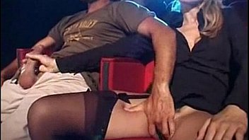 Hardcore sex at xxx theater
