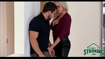 Sexy Big Tits Stepmom Nina Elle Sex With Stepson