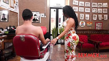 the hairdresser offers massages with a happy ending