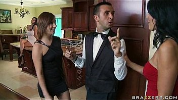 Free Brazzers videos tube - Ava is a smoking hot and very domineering MILF who orders her butler, Ke