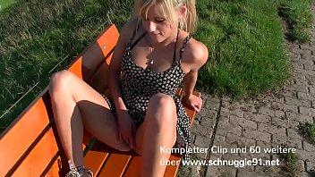 Public outdoor creampie&excl