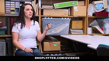 ShopLyfter - Teen Thief (Raven Reign) Devours Cock For Her Freedom