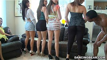 Ass lineup at house party