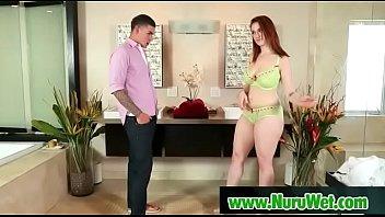 Sexy masseuse in oil nuru massage 03