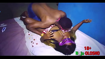Horny Naija Olosho Enjoy Getting Her Pussy Eaten By Her Ate Brother