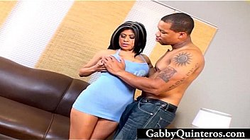 BBC Fucks and Shoots Big Load on Latina MILF's Face!