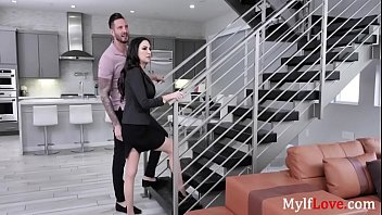 Sexy Brunette MILF Real Estate Agent