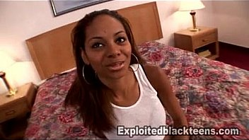 Amateur Ebony Babe w Nice Tits in 1st Time Black Teen Video