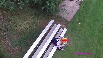 Gibby The Clown caught fucking chick off drone