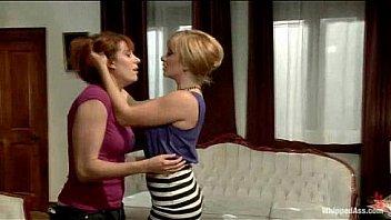 Kinky lesbian rough sex