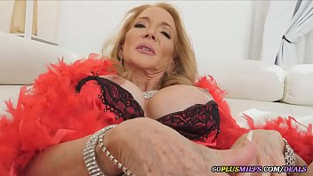this granny has bigger tits than a college young girl