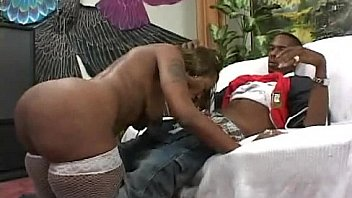 Ebony BBW Sexy Time With Boyfriend