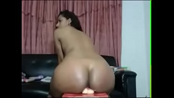 fat ass dildo ride