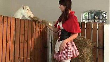 Anal on farm