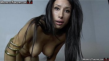 Mistress tangent strict fart domination in lingerie