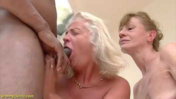 two crazy old moms in a rough big black cock interracial threesome anal fuck orgy