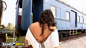 BANGBROS - Classic Ass Parade Episode With PAWG Charley Chase Fucking By The Tracks!