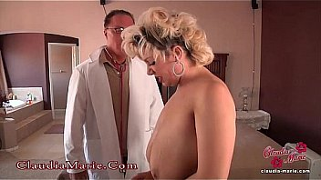 Claudia Marie Fake Tits Cut Out!