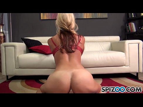 Sexy blonde Sarah Vandella ass drilled in doggy style