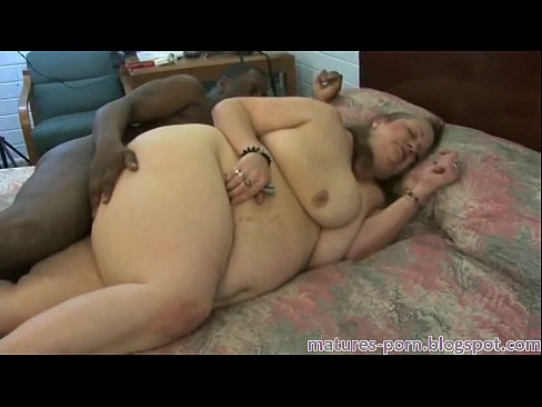 Granny chubby anal