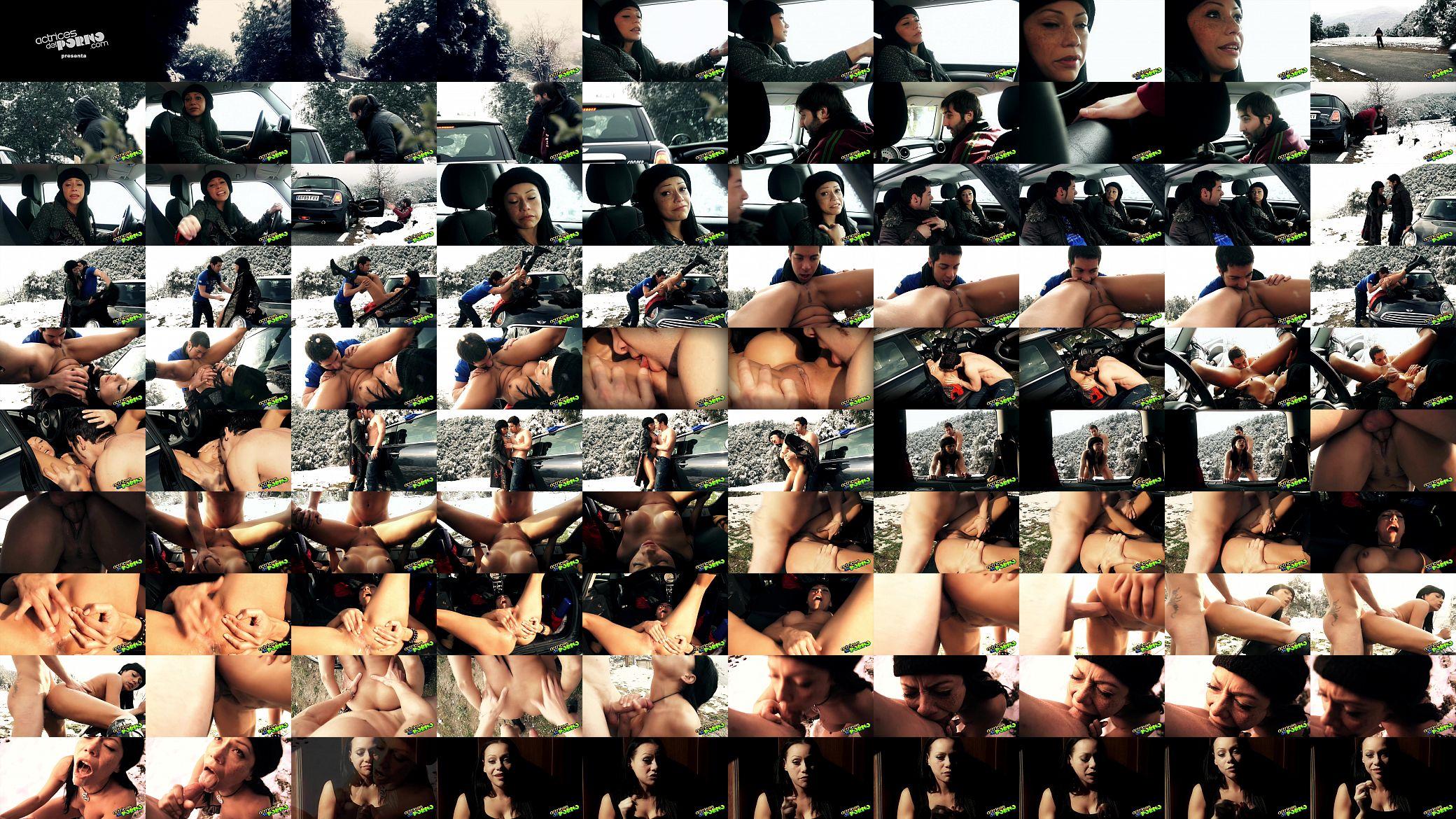 Autoestopista Porno lara y su mini el autoestopista - xnxx