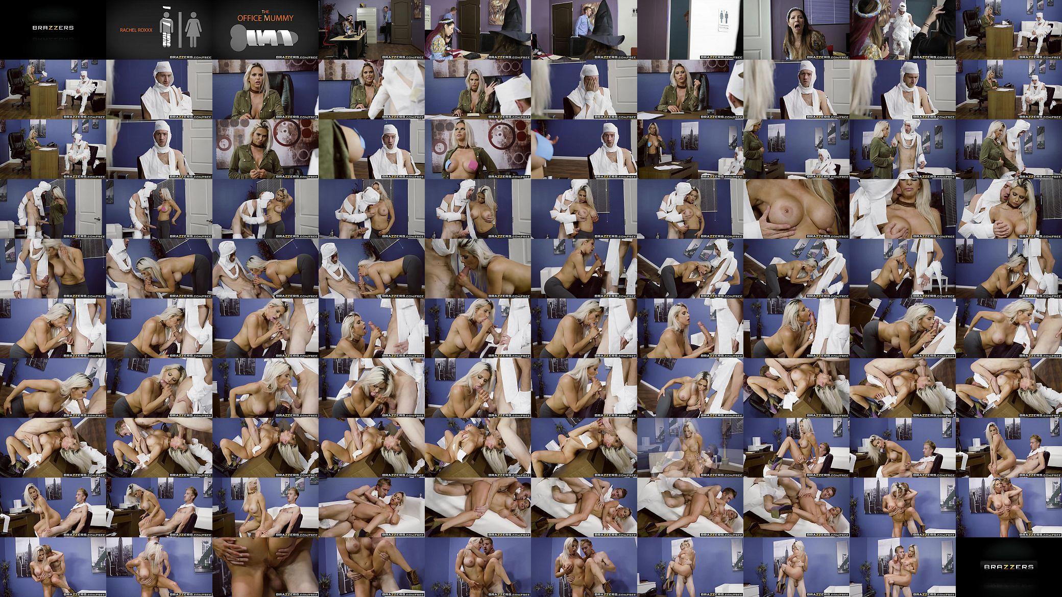 rachel roxxx office mummy