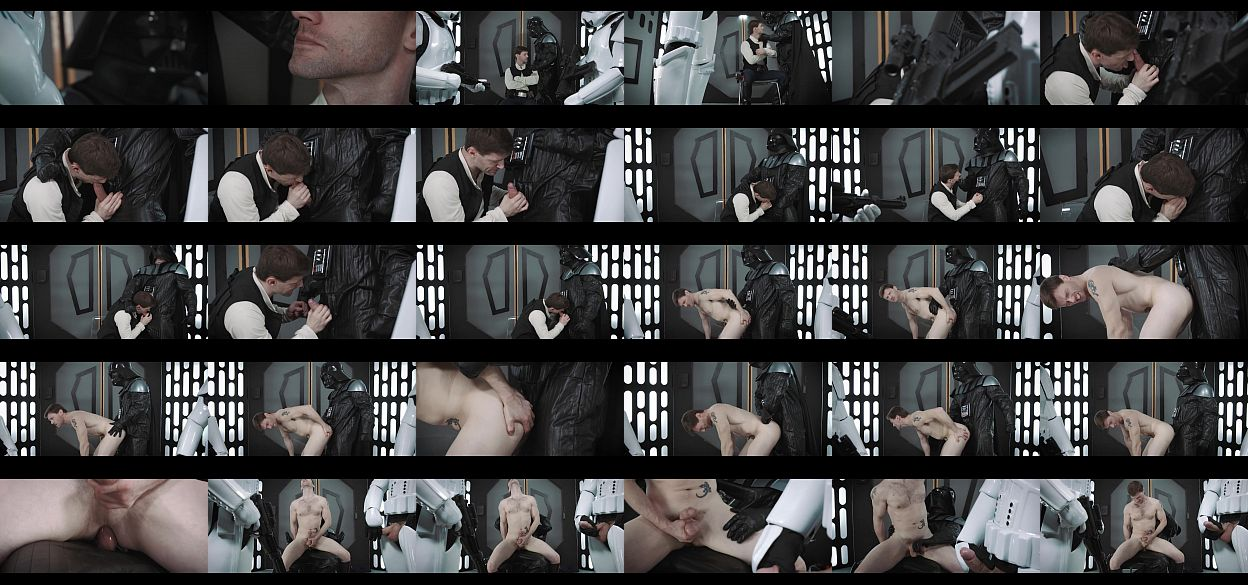 Jedi meets vader and suck his dick deep throat