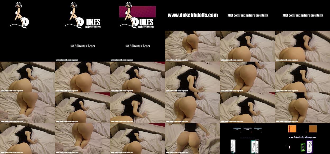 Bully seduces italian milf (doll parody)