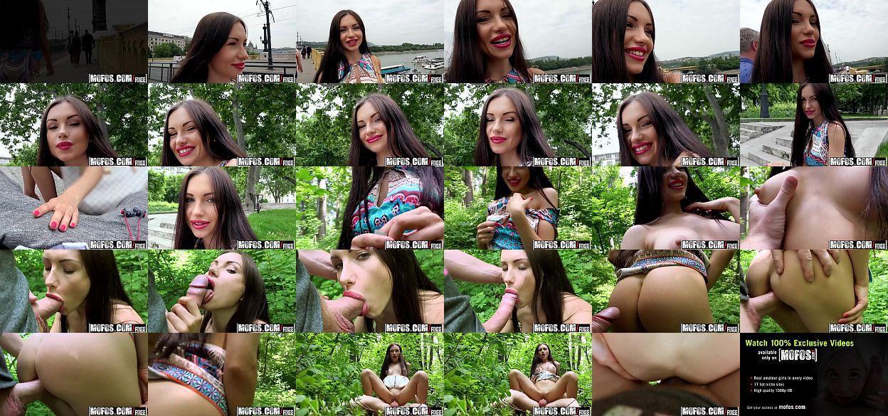 Mofos - Public Pick Ups - Russian Brunette Fucks Outdoors starring Sasha  Rose - XNXX.COM