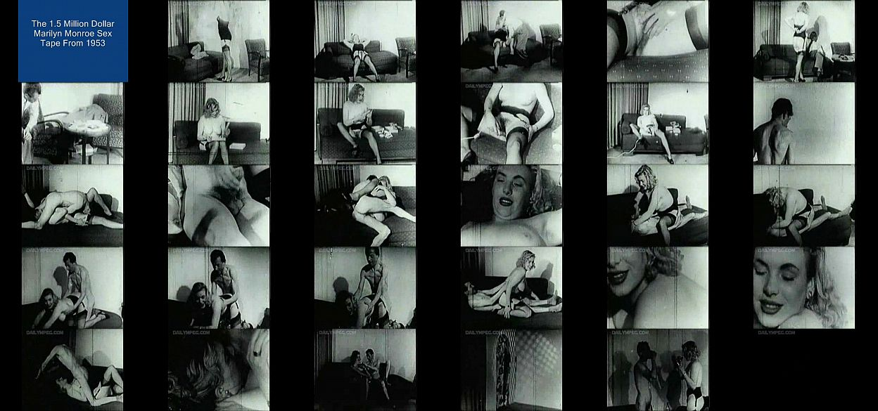 Marilyn monroe sex videoer