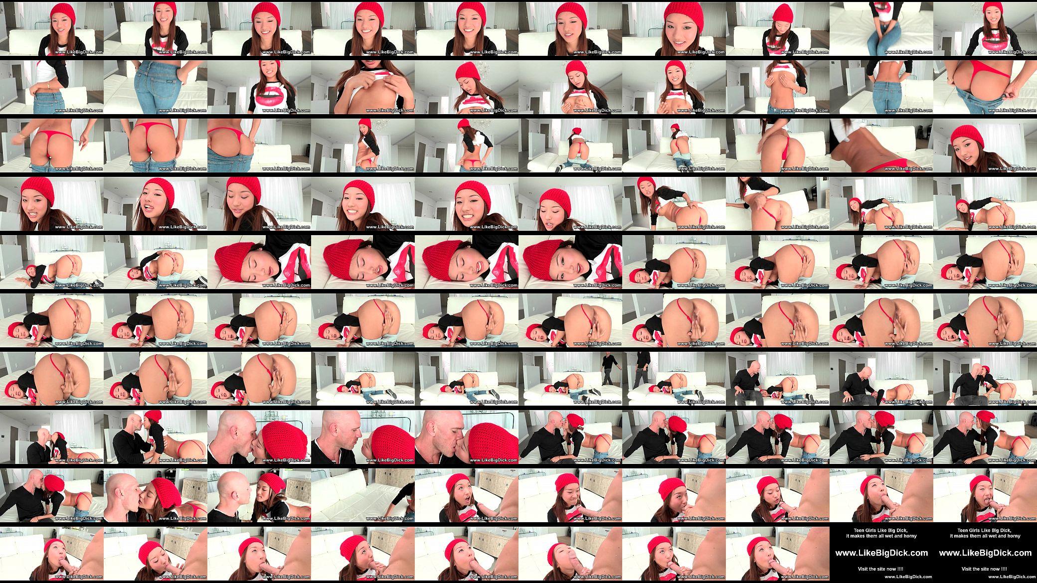 asian street girl video