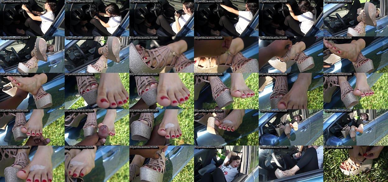 Cum Shoes Incar