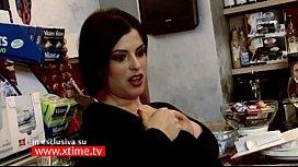Sara Tommasi e Nando Colelli! Scandaloso Video Porno! XTIME.TV!