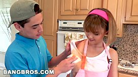 BANGBROS - Stepsister Dillion Harper and Her Stepbrother Get Caught! (bbe16021)