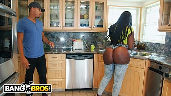 Bangbros Ricky Johnson Jams His Big Black Dick In Between Victoria Cakess Cheeks