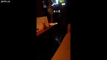 skinny asian girl in bar