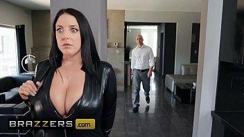 Big Butts Like It Big Angela White Zach Wild Busting On The Burglar Brazzers