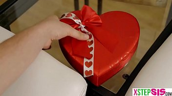 Valentines day made my teen stepsister Elsa Jean sad