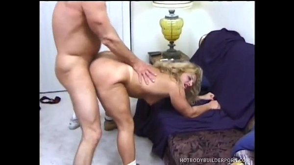 Bodybuilder milf hard fucked