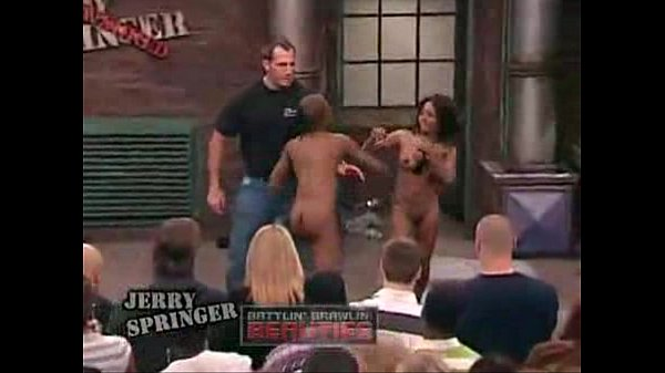 Necessary words... jerry springer talkshow naked rumble