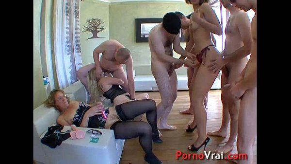 French Amateur Orgy