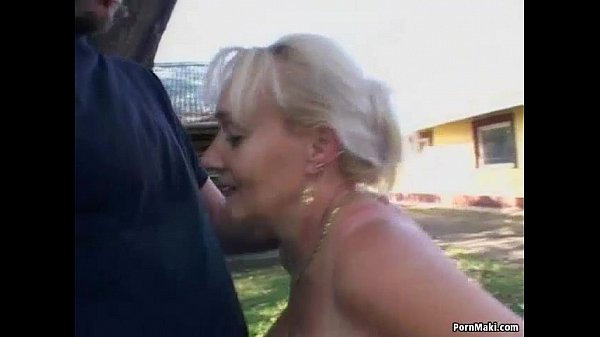 Video granny nude something is