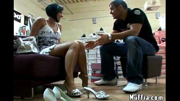 Shoe video hot fuck