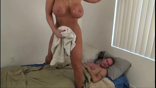 Big tits ass milf helps son